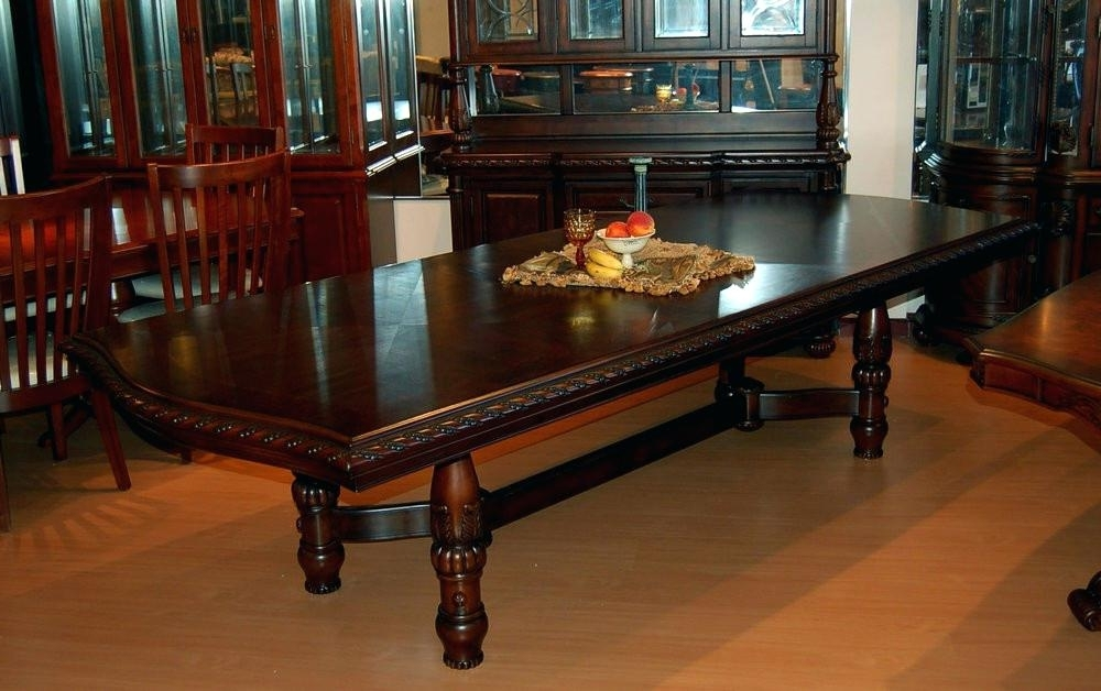 Newest Mahogany Dining Table Sets Regarding Mahogany Dining Room Table Mahogany Dining Room Table Stunning (Gallery 13 of 20)