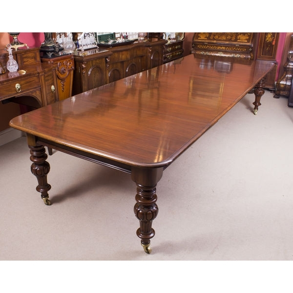 Newest Mahogany Extending Dining Tables Within Dining Tables Victorian (Victoria) – The Uk's Premier Antiques (View 16 of 20)