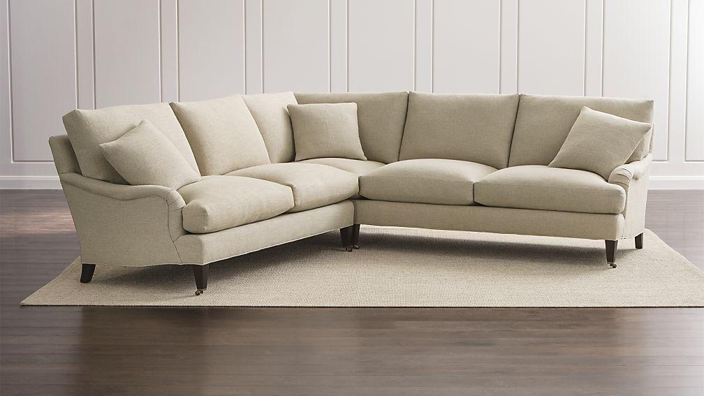 Newest Norfolk Grey 6 Piece Sectionals With Laf Chaise Inside Essex 2 Piece Sectional Sofa With Casters (View 7 of 15)