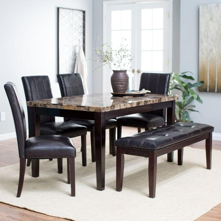 Newest Palazzo 6 Piece Rectangle Dining Sets With Joss Side Chairs Regarding 39 Best Dining Room Images On Pinterest (View 7 of 20)