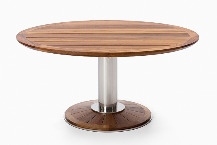 Newest Pedestal Dining Tables – Soulpower With Regard To Caira Extension Pedestal Dining Tables (Gallery 19 of 20)
