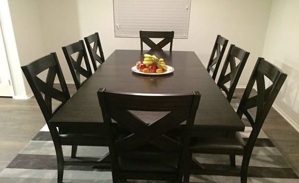 Newest Pelennor Extension Dining Tables Pertaining To Pelennor Extension Dining Table (4) Chairs For Sale In Los Angeles (Gallery 5 of 20)