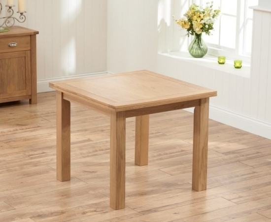 Newest Sandringham 90 Cm Oak Flip Top Extending Dining Table (Gallery 12 of 20)