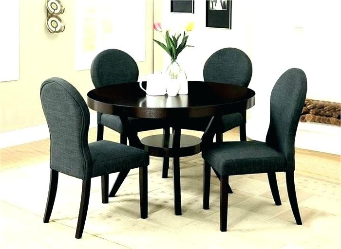 Newest Small Round Dining Table With 4 Chairs Regarding Two Chair Dining Table – Kuchniauani (Gallery 15 of 20)