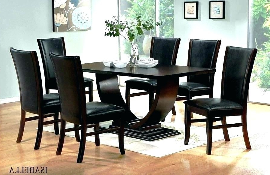 Newest Solid Dark Wood Dining Tables In Dark Brown Solid Wood Dining Table Second Hand Oxford 120Cm Oak With (Gallery 18 of 20)