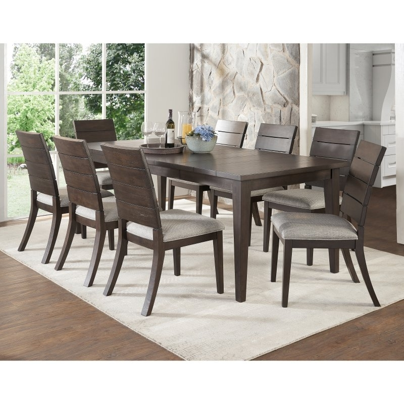 Newest Steve Silver Co. Elora 9 Piece Contemporary Dining Set In 2018 Intended For Craftsman 9 Piece Extension Dining Sets (Gallery 18 of 20)