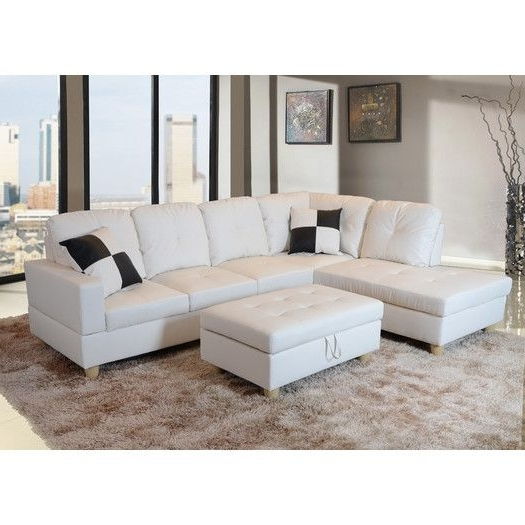 Nico Grey Sectionals With Left Facing Storage Chaise Regarding Popular Russ Sectional With Ottoman (View 10 of 15)