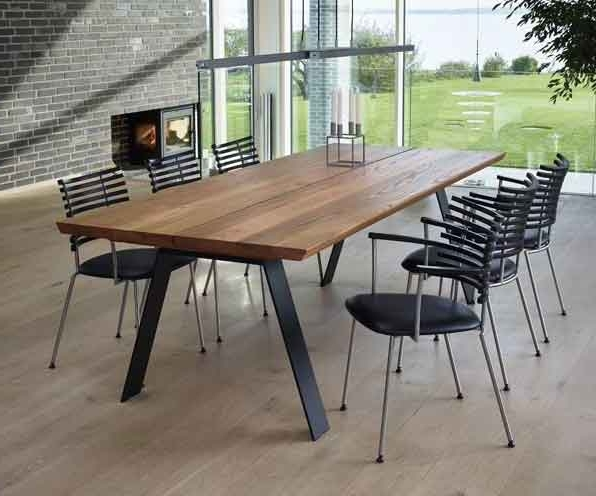 Non Wood Dining Tables (View 3 of 20)