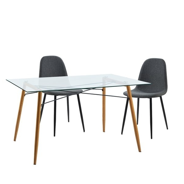 Nora Dining Tables With Regard To Current Shop Versanora Minimalista Table And 2 Chairs Dining Set – Free (Gallery 19 of 20)