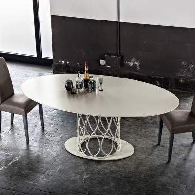 Nora Dining Tables Within Newest Modern Design Dining Table Made Of Grey Oak Mdf 108X200 Cm Nora (View 13 of 20)