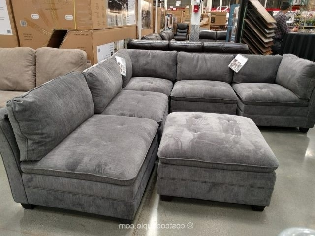 Norfolk Chocolate 6 Piece Sectionals Intended For Widely Used 6 Piece Modular Sectional Costco – Implantologiabogota (View 10 of 15)