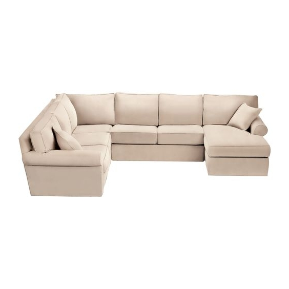 Norfolk Grey 3 Piece Sectional W/laf Chaise In Most Current Norfolk Grey 3 Piece Sectionals With Raf Chaise (Gallery 5 of 15)