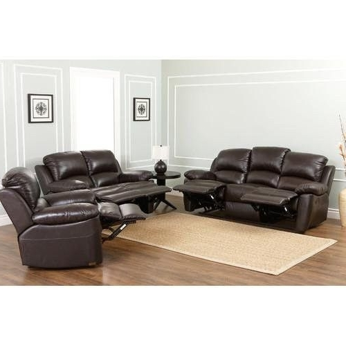 Norfolk Grey 3 Piece Sectionals With Raf Chaise Within Well Known Abbyson Living Sk 1706 Brn 3/2/1 Westwood 3 Piece Top Grain Leather (View 12 of 15)