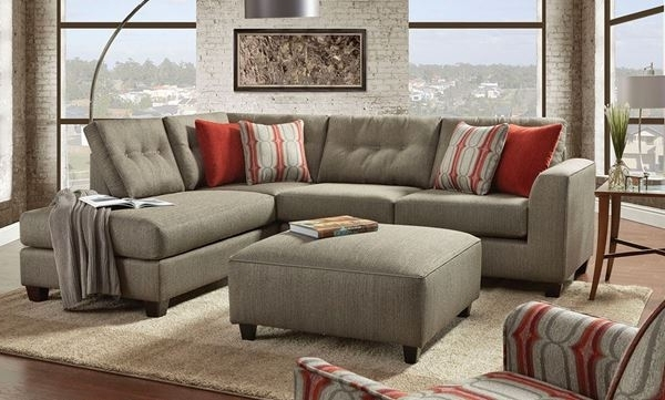 Norfolk Grey 6 Piece Sectionals With Laf Chaise Regarding Well Liked Fusion Handmade American Chaise Sectional Sofa With Ottom (View 10 of 15)