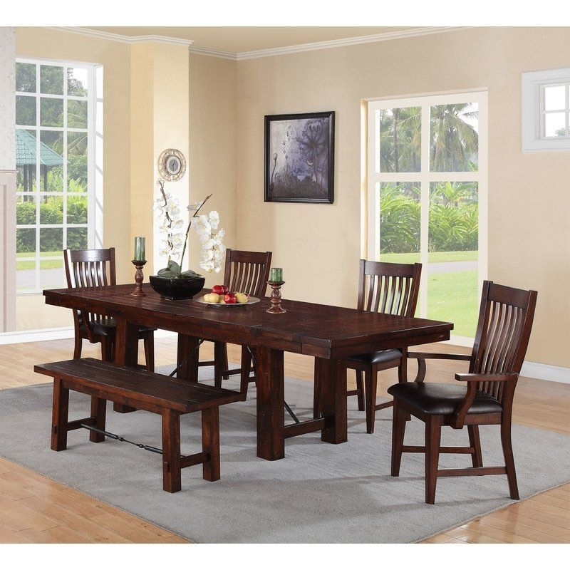 Norwood 7 Piece Rectangle Extension Dining Sets Inside Most Recently Released Seiling Dining Table (View 12 of 20)