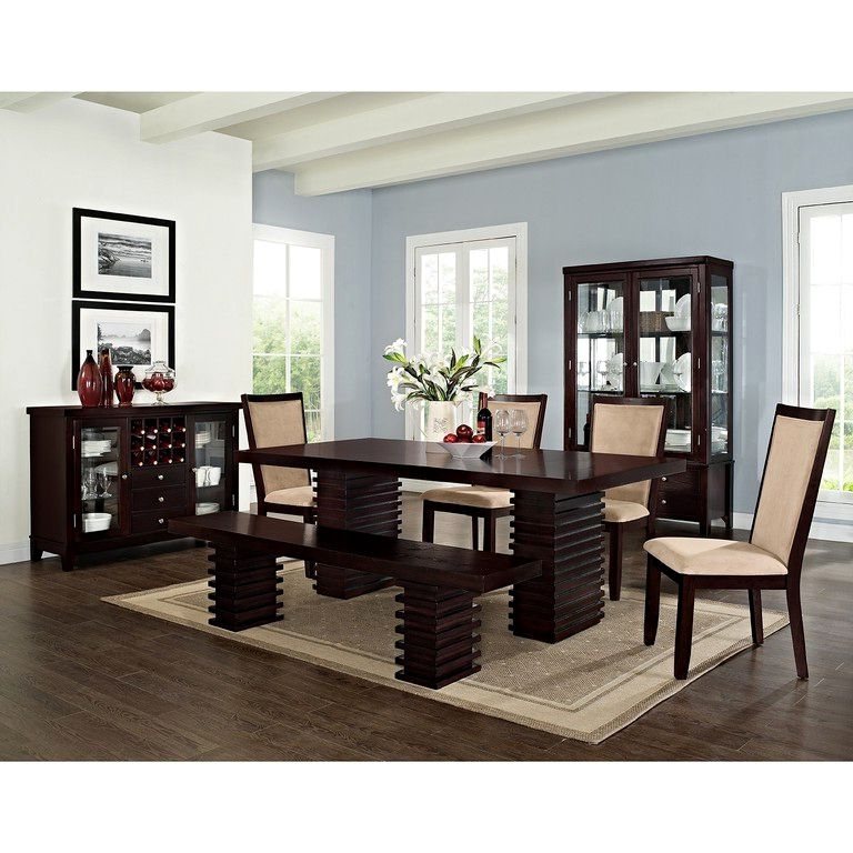 Norwood 9 Piece Rectangular Extension Dining Sets With Uph Side Chairs Within Favorite Dining Room – Colorfulvanity.ml (Gallery 7 of 20)