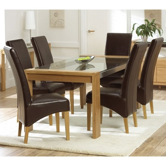 Oak And Glass Dining Tables And Chairs With Regard To Most Up To Date Buying An Oak Antique Dining Table Things Need To Know (View 6 of 20)