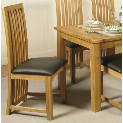 Oak Dining Chairs With Regard To Latest Baltimore Solid Oak Dining Chair From Interiors Hq (Gallery 15 of 20)