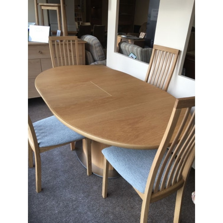 Oak Dining Suite Regarding Current Small Oak Dining Table And Chairs (Gallery 13 of 20)