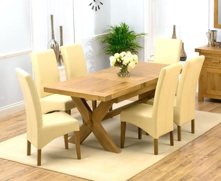 Oak Dining Tables Sets Regarding 2017 Solid Oak Dining Table Set Wood Sets B4800 555X416 Room And Chairs 4 (Gallery 14 of 20)