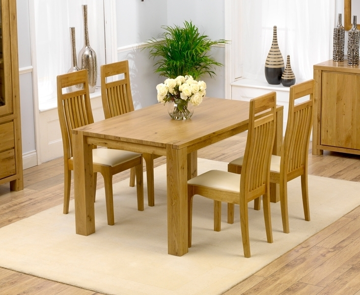 Oak Dining Tables Sets With Most Up To Date Home With Oak Dining Table And Chairs – Home Decor Ideas (Gallery 9 of 20)