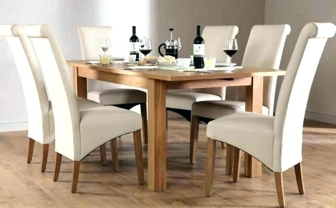 Oak Dining Tables Sets With Regard To 2017 Royal Oak Dining Table Set With 4 Chairs Brown 6 8 Tables Fu Room (Gallery 18 of 20)