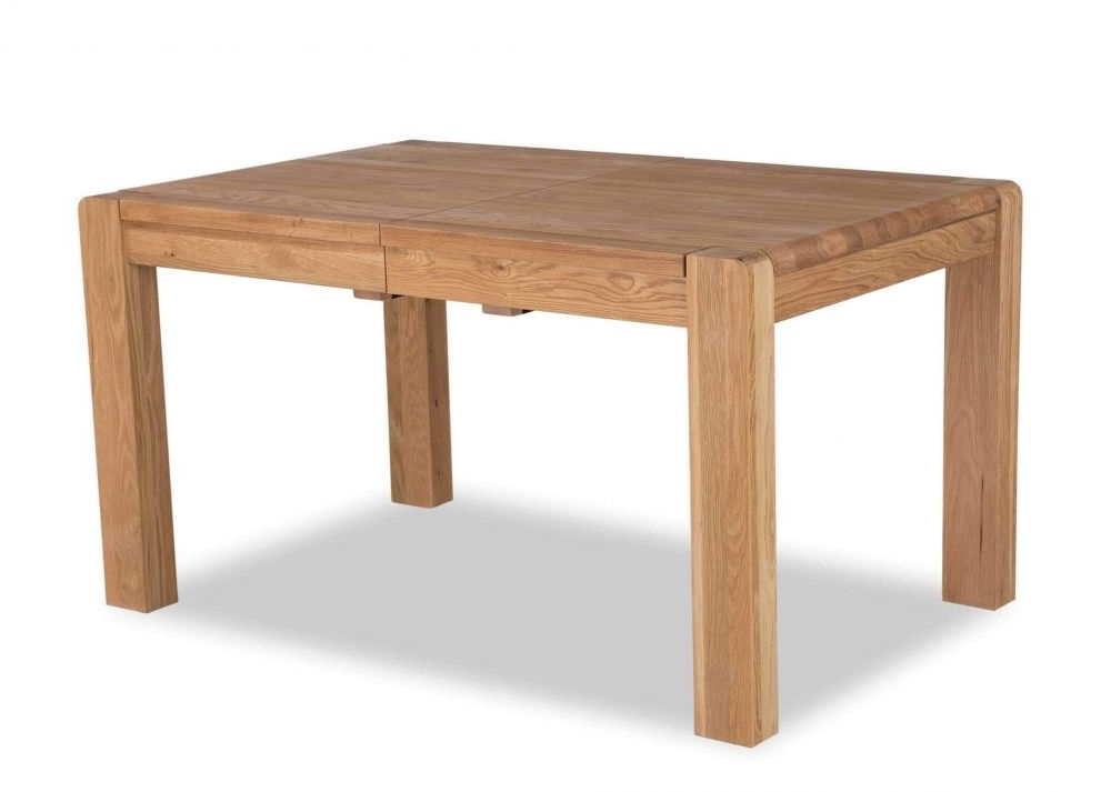 Oak Extendable Dining Table – Milton – Ez Living Furniture With Regard To Well Known Milton Dining Tables (View 12 of 20)