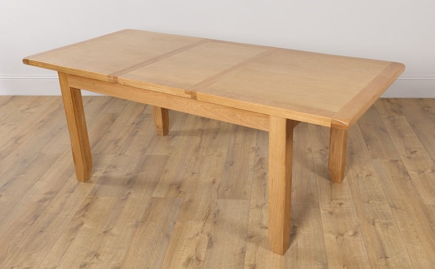 Oak Extending Dining Sets With Regard To Most Current Extending Dining Table: Right To Have It In Your Dining Room (View 12 of 20)