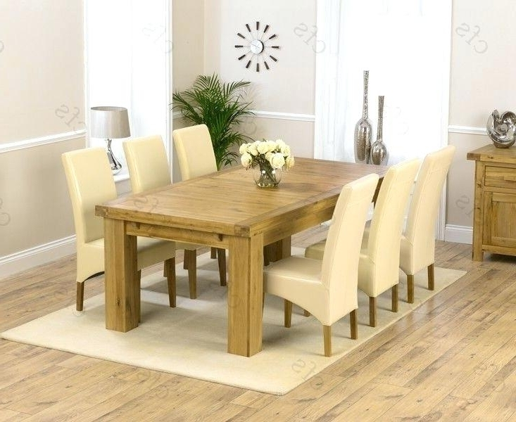Oak Extending Dining Table – Emanhillawi In Most Recently Released Solid Oak Dining Tables And 6 Chairs (Gallery 18 of 20)