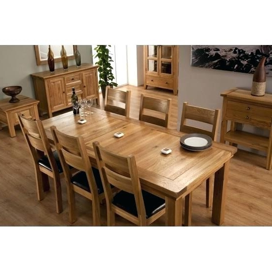 Oak Extending Dining Tables And 6 Chairs With Widely Used Cheap Dining Tables 6 Chairs Java Extending Dark Wood Dining Table 4 (Gallery 19 of 20)
