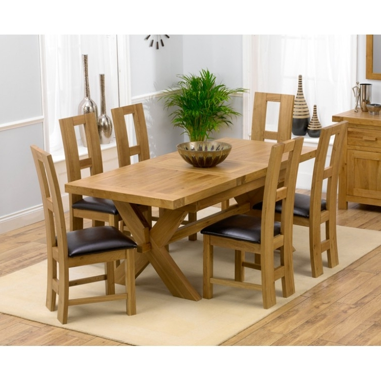 Oak Extending Dining Tables Sets With Well Liked Amazing Offers On Mark Harris Avignon Oak From Oak Furniture House (Gallery 13 of 20)