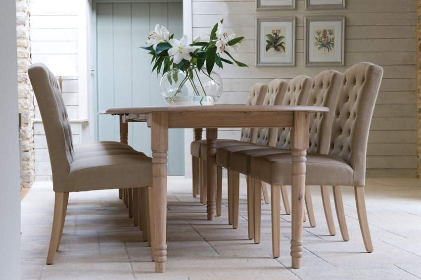 Oak Fabric Dining Chairs Within Recent Tips On Choosing Fabric Dining Chairs With Oak Legs – Fif (Gallery 4 of 20)