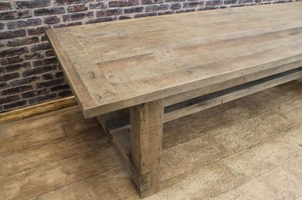 Oak Farmers Table Dining Table (Gallery 9 of 20)