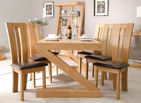Oak Furniture Dining Sets Throughout 2018 How To Get The Oak Dining Sets? – Pickndecor (Gallery 5 of 20)