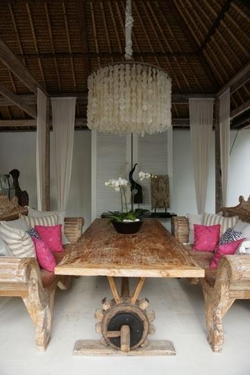 Oazia Aqua, Umalas Kerobokan, Bali Villa Within Most Popular Balinese Dining Tables (Gallery 11 of 20)