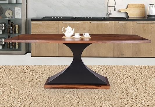 Order Dining Table Online At Best Price – Royaloak Regarding Well Known Dining Tables (Gallery 8 of 20)