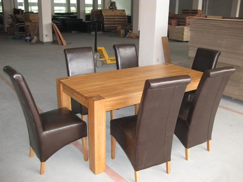 Oslo Solid Oak Dining Furniture (Gallery 2 of 20)
