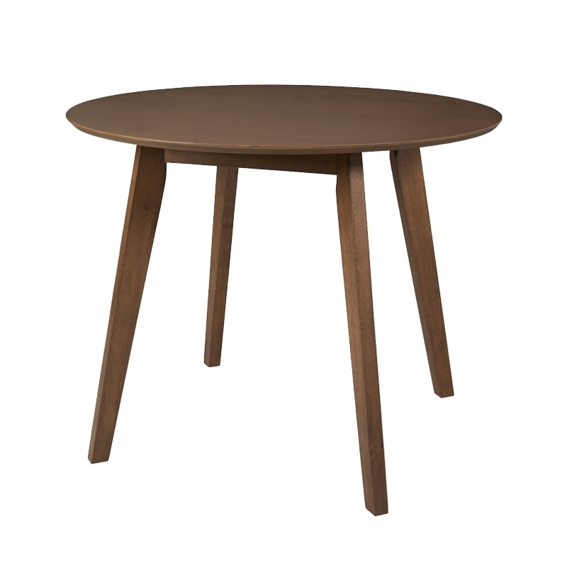 Outdoor Sienna Dining Tables With Regard To Well Liked Sienna 100Cm Round Dining Table • Decofurn Factory Shop (View 16 of 20)