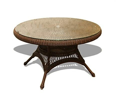 Outdoor Tortuga Dining Tables Intended For Fashionable Amazon : Tortuga Outdoor Lex Dt1 Lexington Java Dining Table (View 10 of 20)