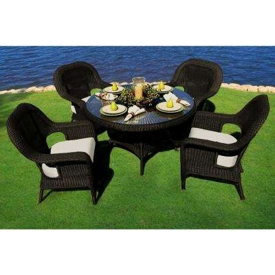 Outdoor Tortuga Dining Tables Throughout Most Popular Dining Table – Tortuga Outdoor – The Home Depot (View 5 of 20)
