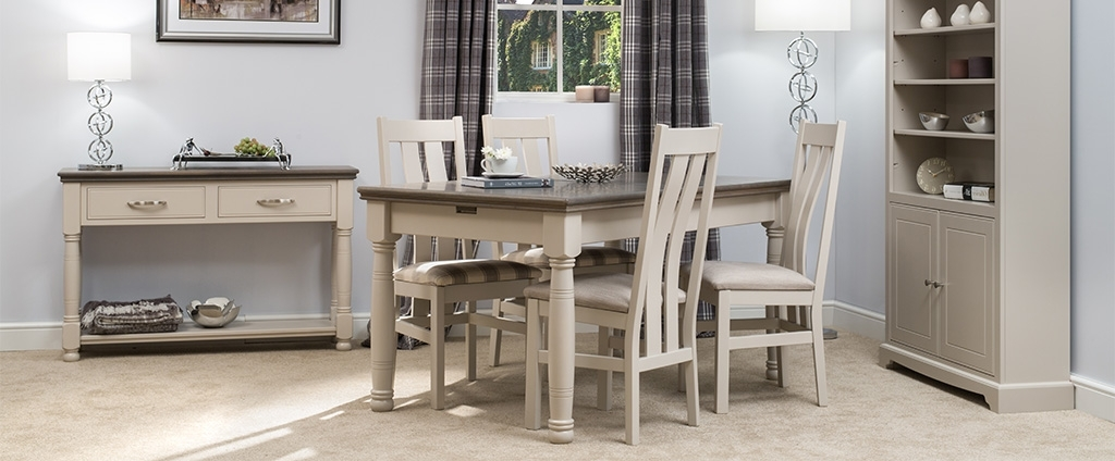 Painted Dining Furniture (View 10 of 20)