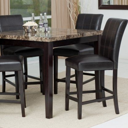 Palazzo 3 Piece Dining Table Sets In 2018 Modern Counter Height Dining Sets – Jps Gifts (View 11 of 20)