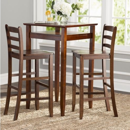 Palazzo 3 Piece Dining Table Sets Within Popular Kitchen Bar Table Sets Palazzo 5 Piece Round Bar Height Pub Set (View 15 of 20)