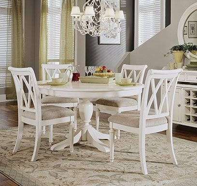 Palazzo 6 Piece Rectangle Dining Sets With Joss Side Chairs For Latest White Round Table With Chairs Check More At Http://casahoma (View 8 of 20)