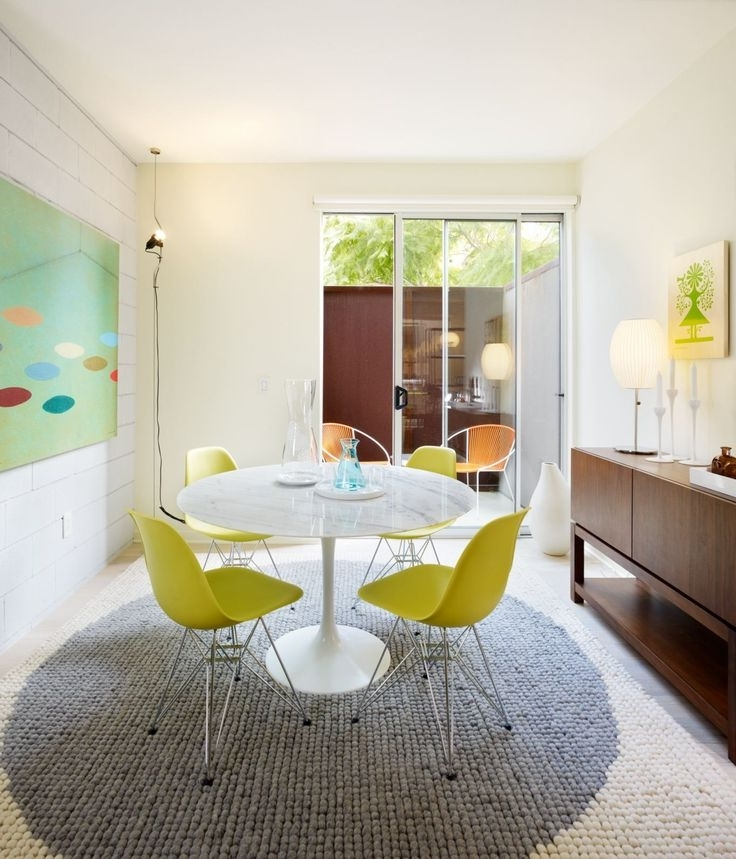 Palazzo 7 Piece Dining Sets With Pearson White Side Chairs In Fashionable 17 Best Tables Tulipes Images On Pinterest (View 16 of 20)