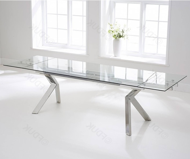 Palazzo Rectangle Dining Tables Pertaining To Recent Mark Harris Palazzo (View 16 of 20)