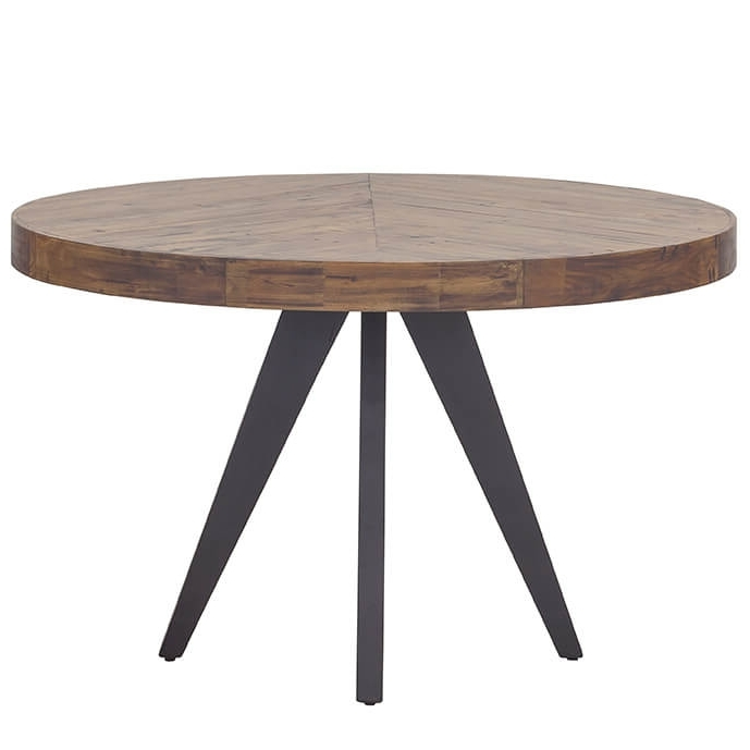 Parq Modern Round Dining Table Pertaining To Fashionable Round Dining Tables (View 10 of 20)