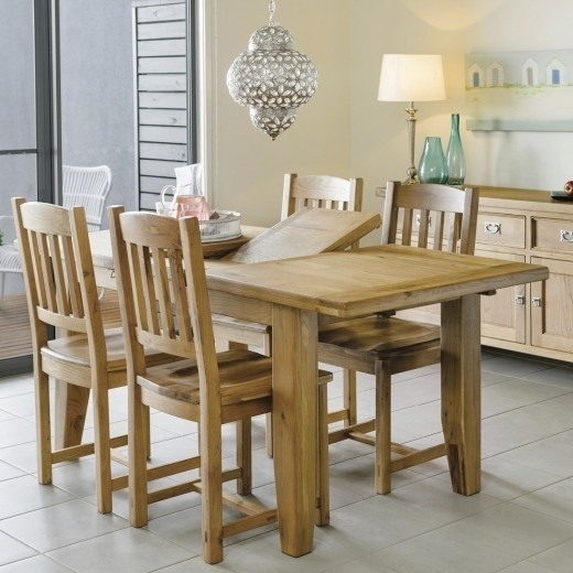 Parquet 7 Piece Dining Sets Within Trendy Packages – Dining (View 20 of 20)