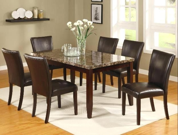 Partridge 7 Piece Dining Sets Intended For Current 7 Piece Dining Set Silver 7 Piece Dining Set 7 Piece Counter Height (View 15 of 20)