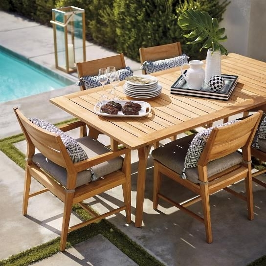 Patio Dining Sets With Palazzo 7 Piece Rectangle Dining Sets With Joss Side Chairs (View 11 of 20)